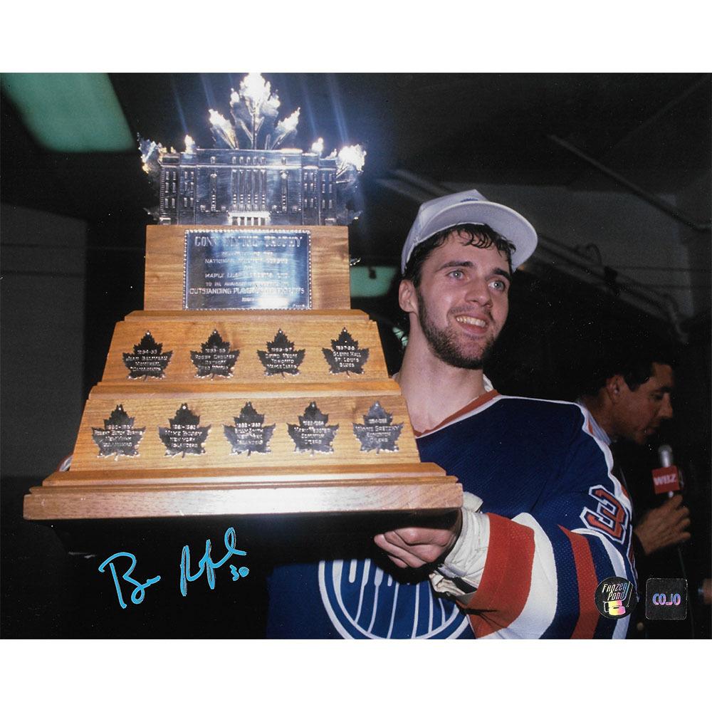 Bill Ranford Autographed Edmonton Oilers 8X10 Photo