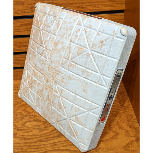 Photo of September 26, 2014 Red Sox vs. Yankees 'Jeter Final Weekend' Game Used 1st Base