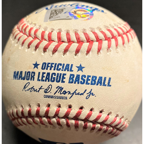 Photo of Game-Used Baseball: Casey Mize Detroit Tigers Home Debut Pitch (MLB AUTHENTICATED)
