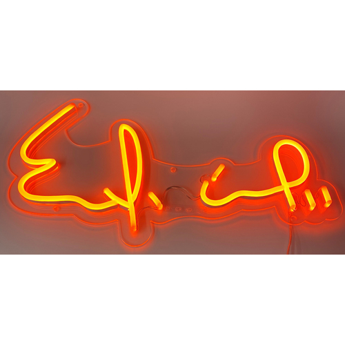 Photo of Ender Inciarte Autograph Neon Sign