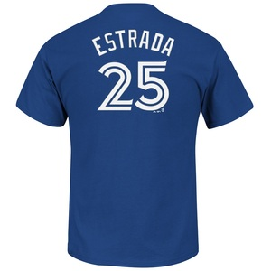 Toronto Blue Jays Marco Estrada Player T- Shirt by Majestic