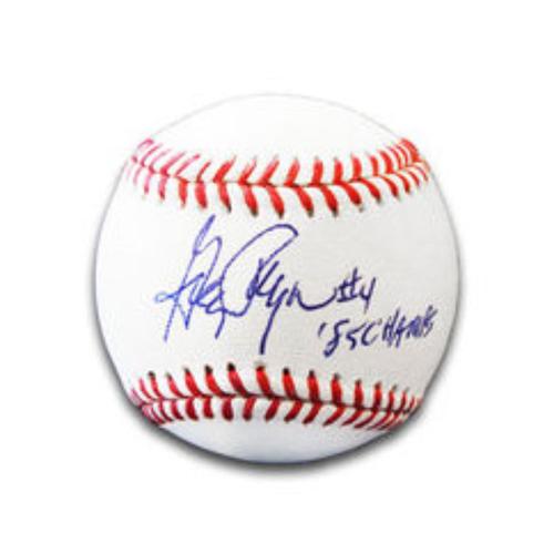 Photo of Greg Pryor Autographed Baseball