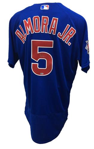 Albert Almora Jr. Autographed Jersey: Size - 48