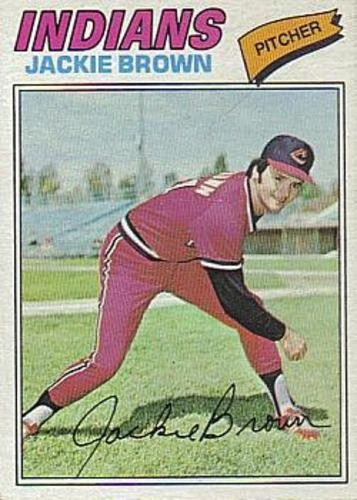 Photo of 1977 Topps #147 Jackie Brown