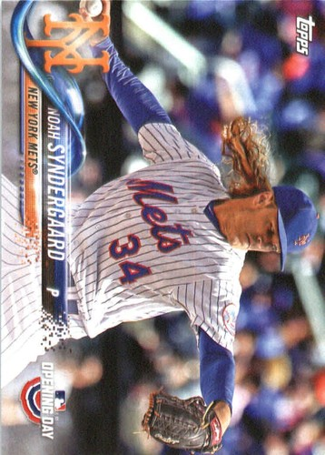 Photo of 2018 Topps Opening Day #68 Noah Syndergaard
