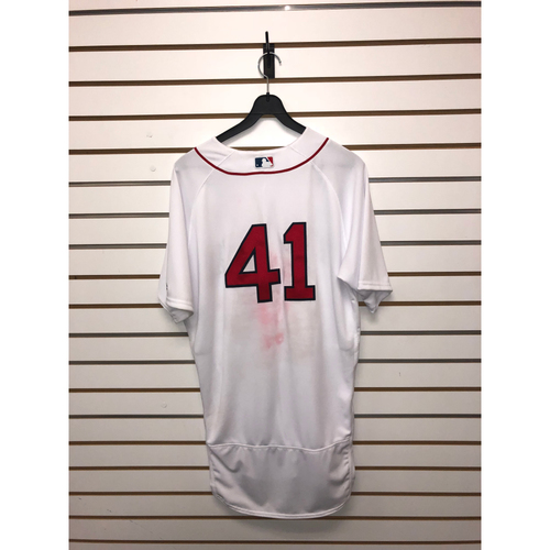 Photo of  Chris Sale Game Used April 10, 2018 Home Jersey - 1st Win of the Season