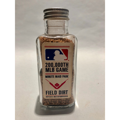 Photo of 200,000 MLB Game: Game-Used Dirt Jar