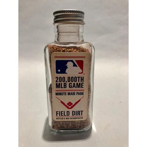Photo of 200,000 MLB Game: Game-Used Dirt Jar