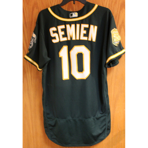 Photo of Marcus Semien 2018 Game-Used Jersey