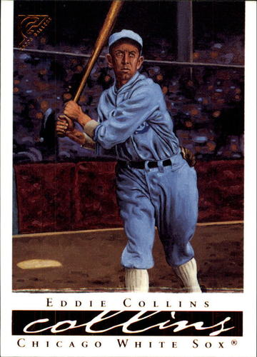 Photo of 2003 Topps Gallery HOF #13 Eddie Collins Hall of Fame Class of 1939