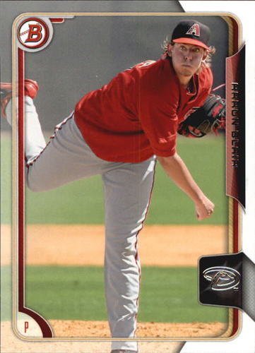 Photo of 2015 Bowman Prospects #BP76 Aaron Blair