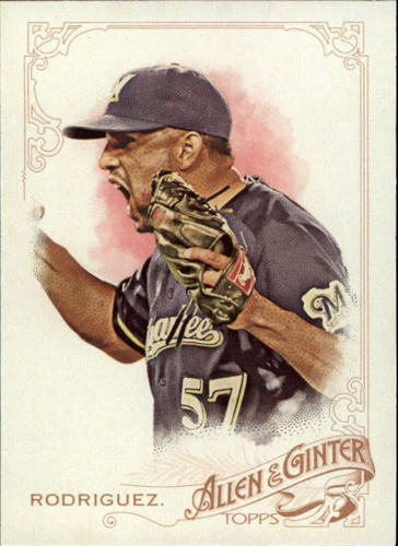 Photo of 2015 Topps Allen and Ginter #50 Francisco Rodriguez