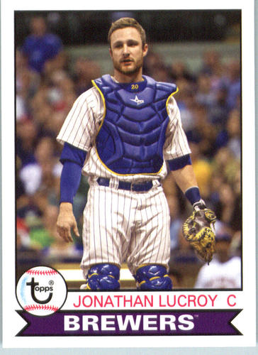 Photo of 2016 Topps Archives #102 Jonathan Lucroy