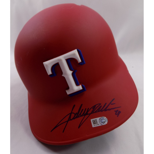 Photo of Autographed Helmet - Adrian Beltre