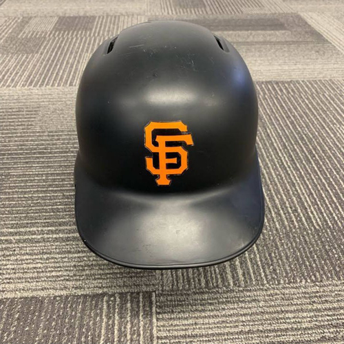 Photo of End of Year Auction - 2018 Game Used Batting Helmet worn by #1 Gregor Blanco - size 7 1/4