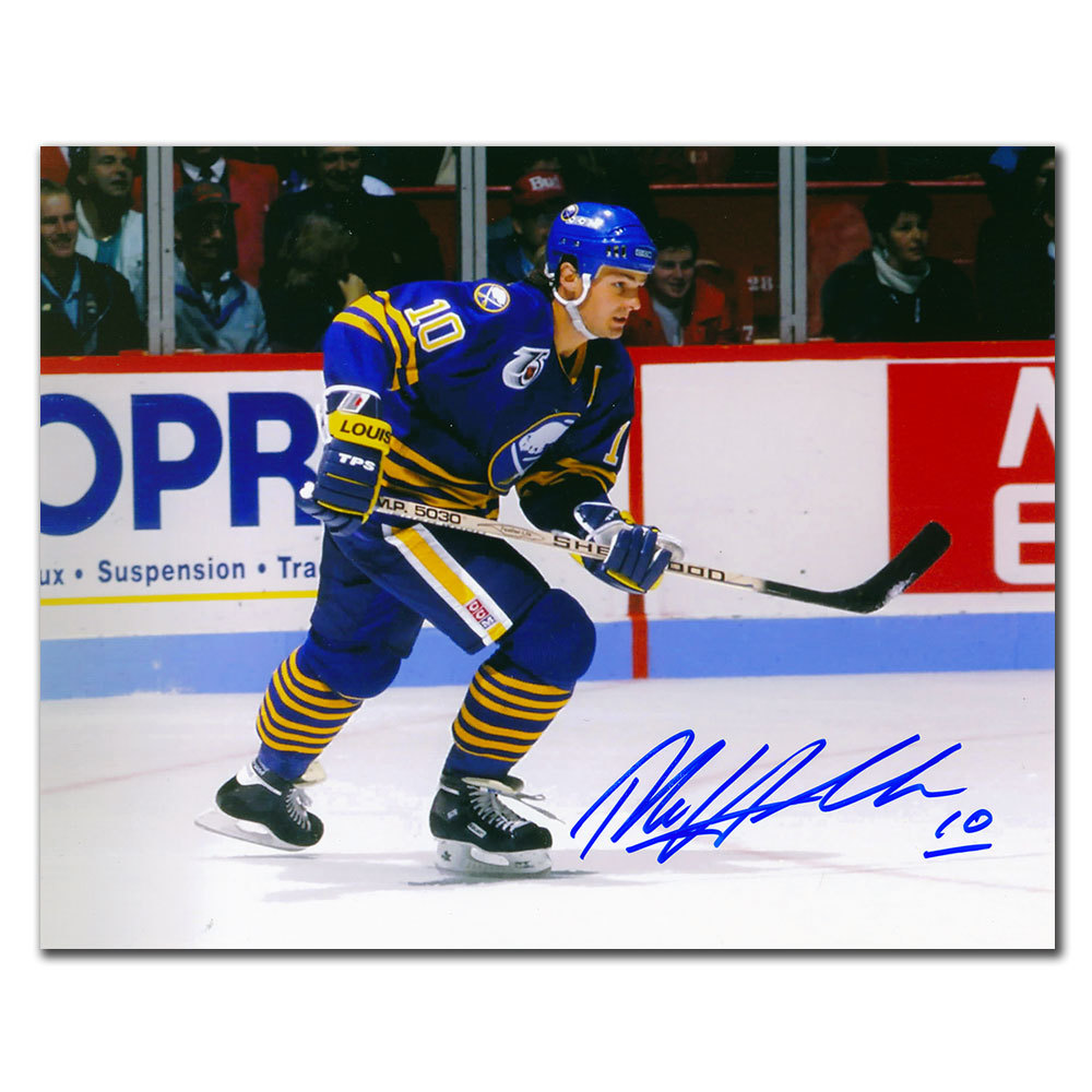 Dale Hawerchuk Buffalo Sabres BREAKOUT Autographed 8x10