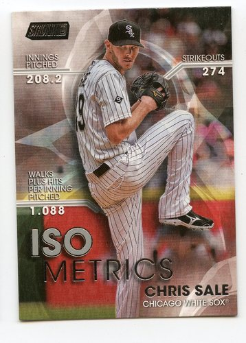 Photo of 2016 Stadium Club ISOmetrics #I22 Chris Sale