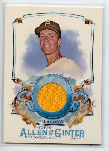 Photo of 2017 Topps Allen and Ginter Relics #FSRATG Tyler Glasnow