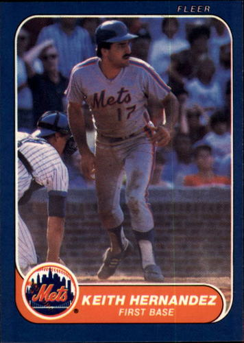 Photo of 1986 Fleer #84 Keith Hernandez