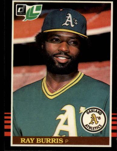 Photo of 1985 Leaf/Donruss #116 Ray Burris