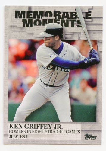 Photo of 2017 Topps Memorable Moments #MM48 Ken Griffey Jr.