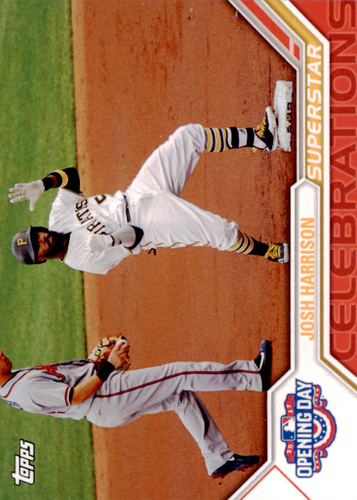 Photo of 2017 Topps Opening Day Superstar Celebrations #SC7 Josh Harrison