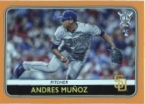 Photo of 2020 Topps Big League Orange #110 Andres Munoz