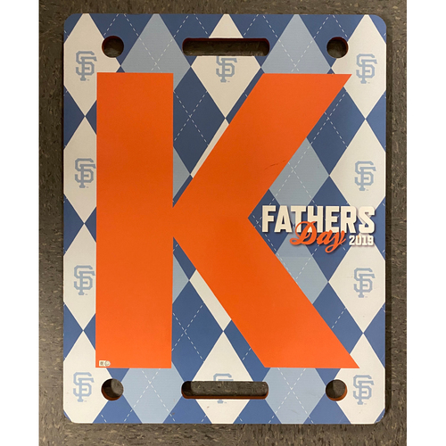 Photo of 2019 Fathers Day K Board