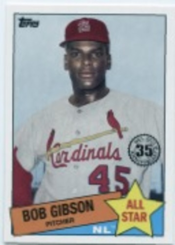 Photo of 2020 Topps '85 Topps All Stars #85AS26 Bob Gibson
