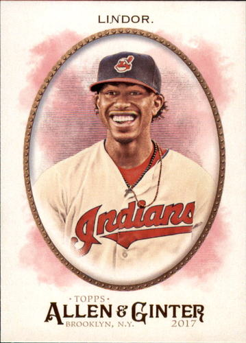 Photo of 2017 Topps Allen and Ginter #200 Francisco Lindor