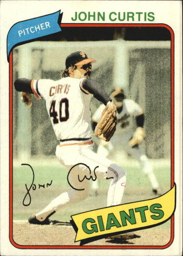 Photo of 1980 Topps #12 John Curtis DP