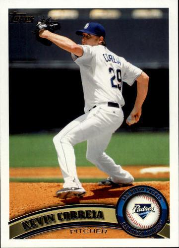 Photo of 2011 Topps #47 Kevin Correia