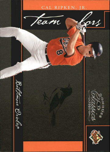 Photo of 2005 Donruss Classics Team Colors #7 Cal Ripken