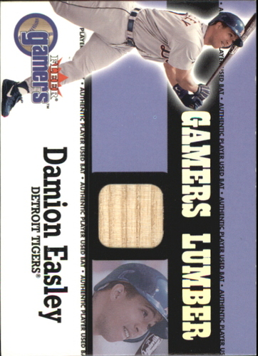 Photo of 2000 Fleer Gamers Lumber #18 Damion Easley
