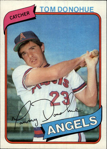 Photo of 1980 Topps #454 Tom Donohue RC