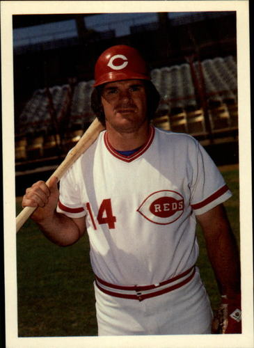 Photo of 1985 Topps Rose #36 Pete Rose/Favorite position