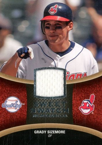 Photo of 2008 Sweet Spot Swatches #SGS Grady Sizemore
