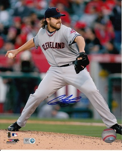 Photo of Chris Perez Autographed 8x10