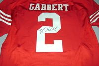 49ERS - BLAINE GABBERT SIGNED 49ERS AUTHENTIC JERSEY - SIZE 44