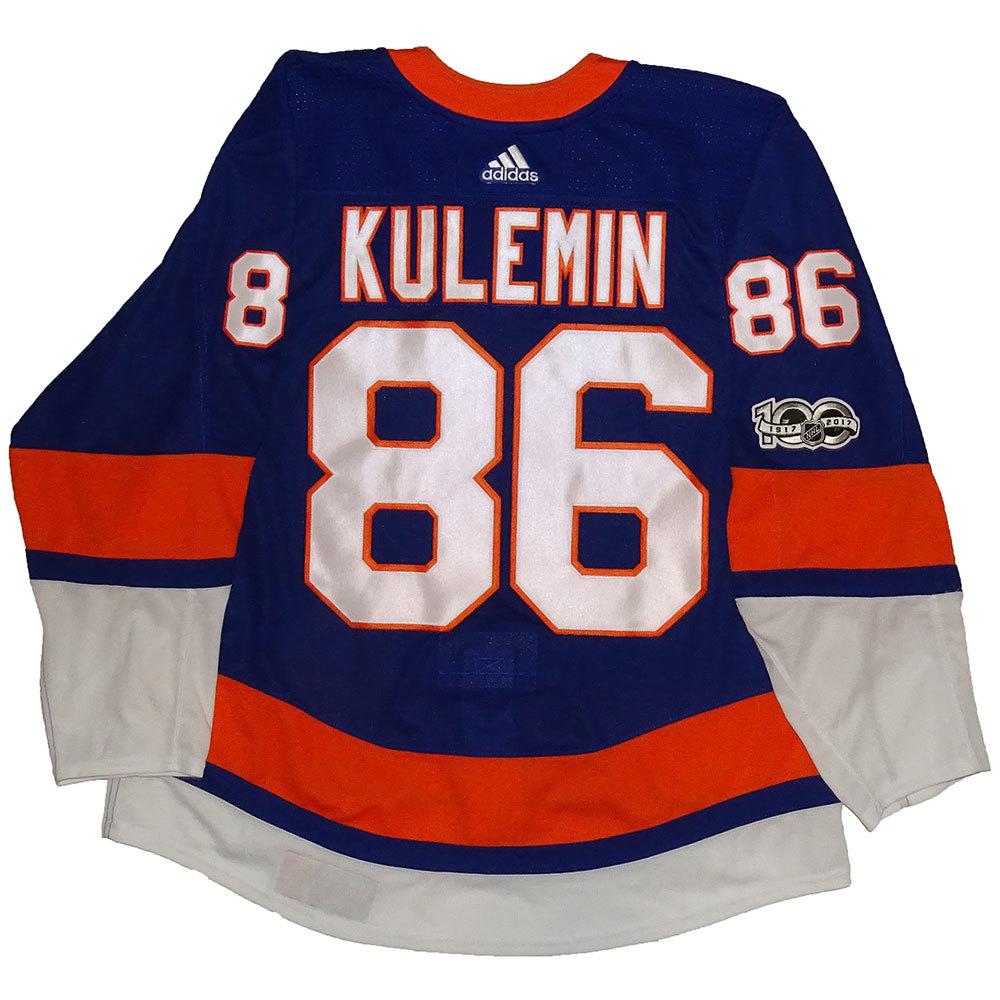 Nikolay Kulemin - Game Worn Home Jersey - 2017-18 Season - New York Islanders