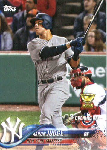Photo of 2018 Topps Opening Day #71 Aaron Judge