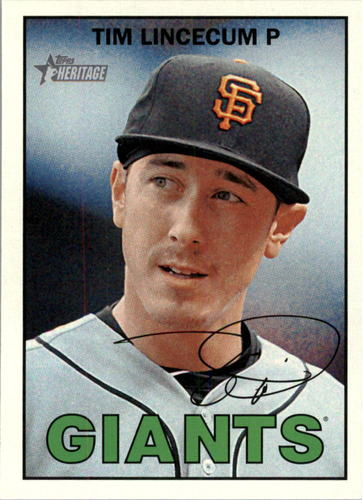 Photo of 2016 Topps Heritage #231 Tim Lincecum