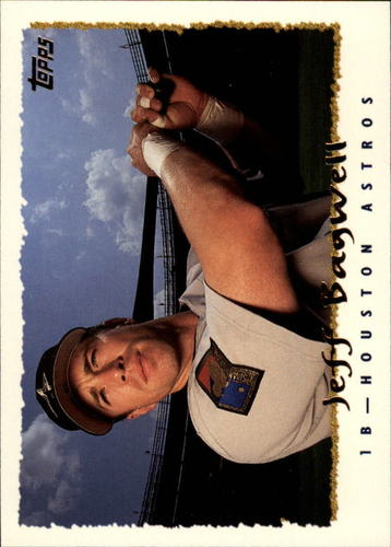 Photo of 1995 Topps #405 Jeff Bagwell