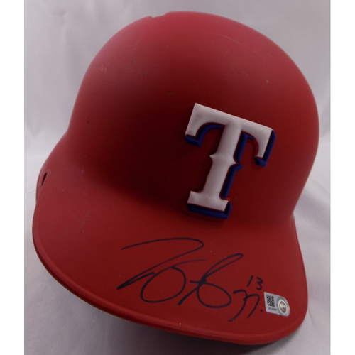 Photo of Autographed Helmet - Joey Gallo