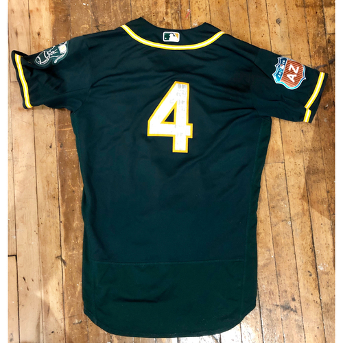 Photo of 2016  Spring Training -  Game-Used Jersey - Coco Crisp  (A's) - Size 44