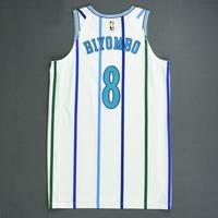 Bismack Biyombo - Charlotte Hornets - 2018-19 Season - Game-Worn White Classic Edition 1988-97 Home
