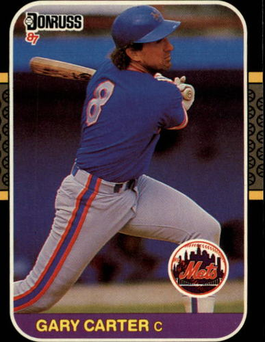 Photo of 1987 Donruss #69 Gary Carter