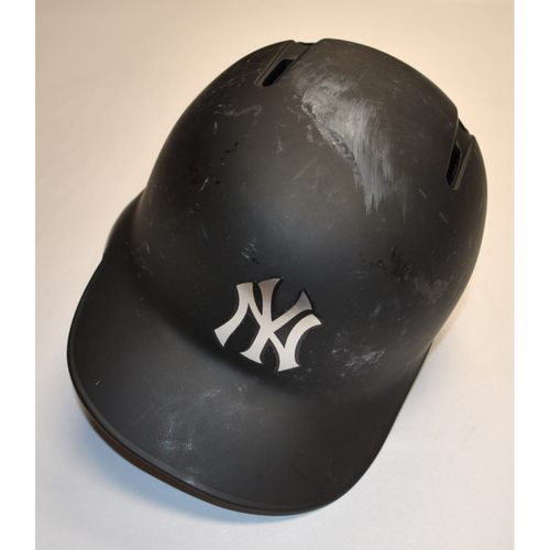 "Photo of Didi ""SIR MJG"" Gregorius New York Yankees Game-Used 2019 Players' Weekend Helmet"