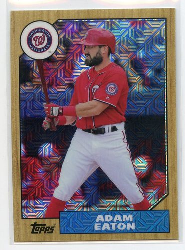 Photo of 2017 Topps '87 Topps Silver Pack Chrome #87AE Adam Eaton S2