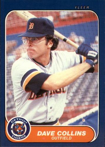 Photo of 1986 Fleer Update #28 Dave Collins